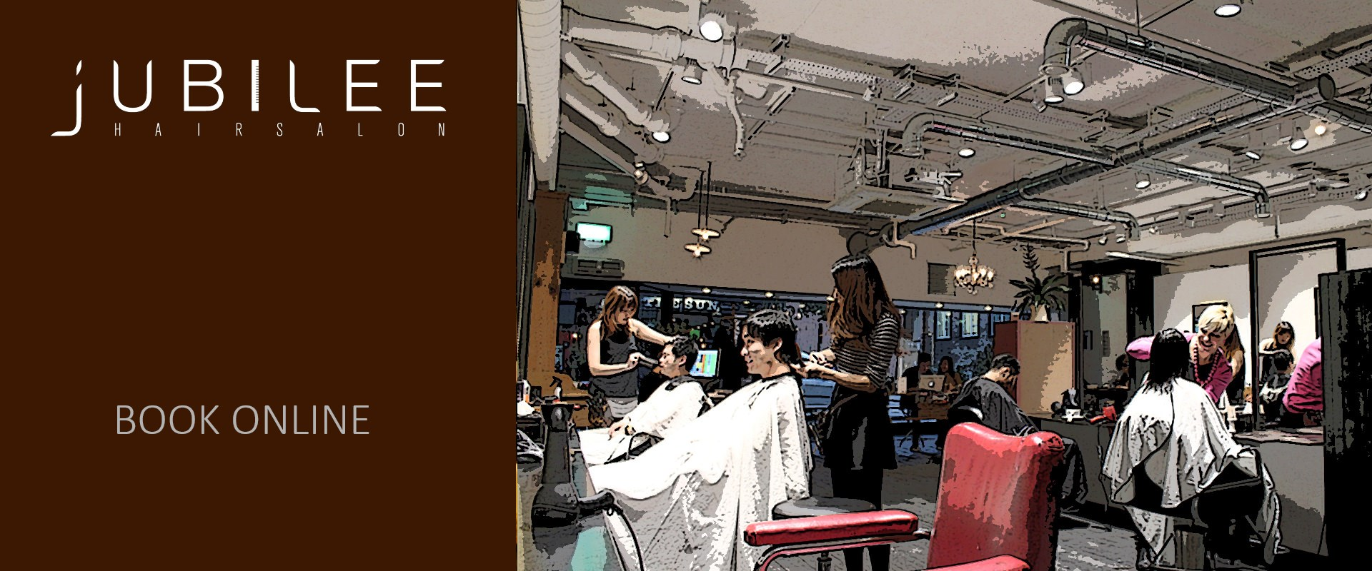 Jubilee Hair Salon - New shop in Covent Garden